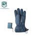 800mAh 3 Levels Temp. Adjustable Windproof Ski Gloves Rechargeable Warm Gloves Electric Gloves