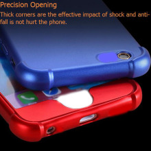 0.8mm Camera Lens Scratch Blank Raw Material Phone Cover For I7 8 Cell Mobile Phone Case