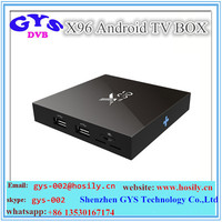 X96 Android tv box Android 6.0 Marshmallow Amlogic S905X 1g/8g & 2g/16g Quad core kodi 16.1