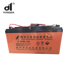 Rechargeable sealed acid fog type 12V 100ah solar gel battery 100ah