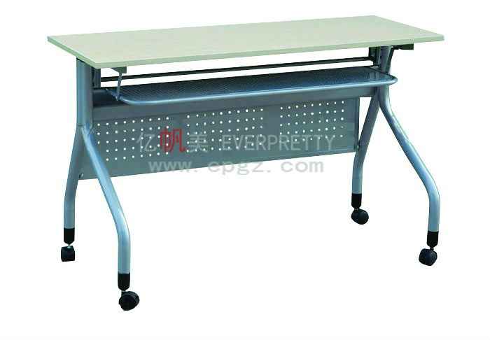 university school desk,high quality school desk,metal leg wood top school desk