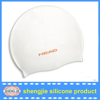 Custom funny adult Silicone novelty swimming cap from Shengjie