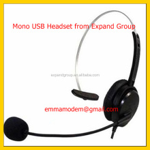Monaural Headset,Monaural call center USB Headset