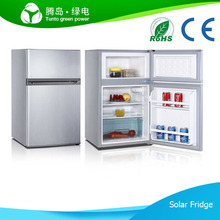 Best Selling Mini Portable DC 12V 90L Solar Refrigerator for Home Use