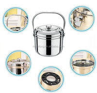 Stainless steel energy-saving thermal cooker