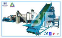 Good quality PET plastic bottle crushing machine/pet bottle washing line for sale