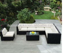 Outdoor Patio Sofa Wicker Sectional Brown Maze Garden Rattan Furniture