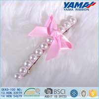 Delicate Bow Drill Bow Pearl Chinese Hairpins For Dazzle Hair Accessories
