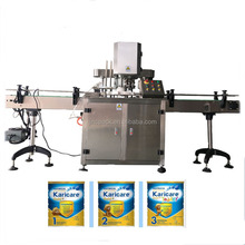 Sanitary standard tin can capping and sealing machine