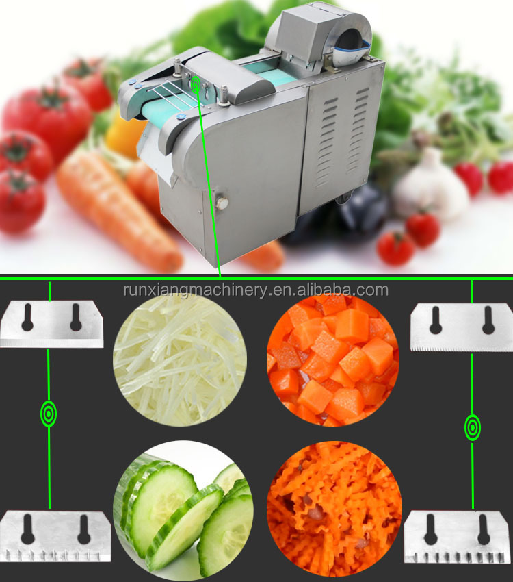 Electric Vegetable Fruit Carrot Onion Slicer Cutter Machine