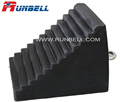 Solid rubber wheel chock with favorable price