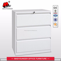 commercial custom 3 drawer lateral file cabinet