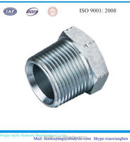 carbon steel BSPT male pipe thread hex plug