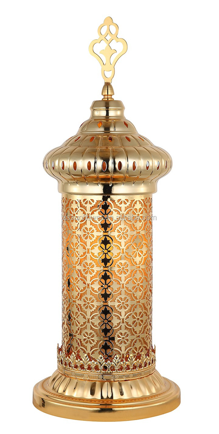 Hot sale hollowed-out Moroccan iron floor lamp