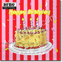 Birthday Party printing paper napkin
