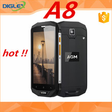 New model !! AGM A8 original smartphone 64gb black fast shipping cellphone