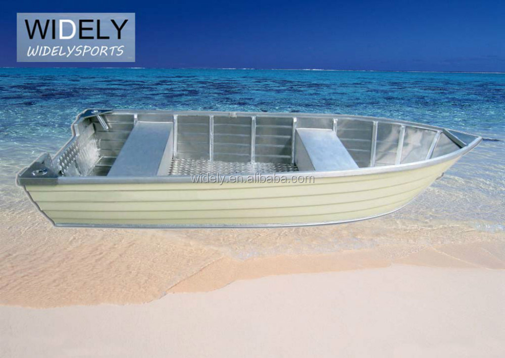 HOT SALE deep-v welded steering aluminum fishing boat with center control with hull of 2.0 or 3.0mm thickness