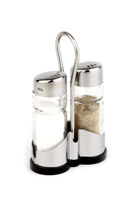 promotion gift 3 pieces salt shakers condiment sets glass cruets