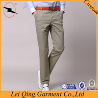 Casual high quality mens plus size pants