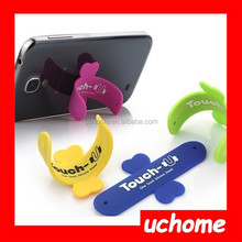 UCHOME Unique mobile phone silicone holder stand ,silicone phone holder