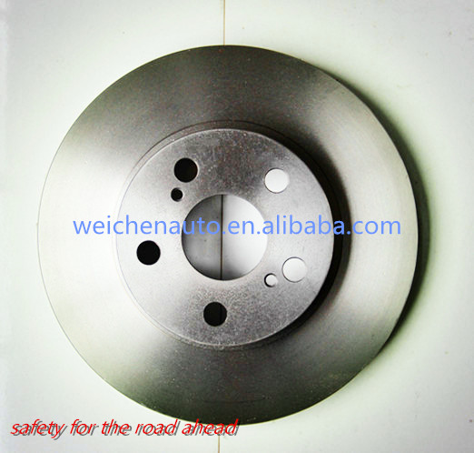 high performance and grey cast iron auto brake parts brake disc for 4351247030 with GG20/G3000 material