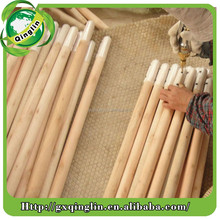 wooden broom handle with pvc coated/wooden broom handles with plastic coated