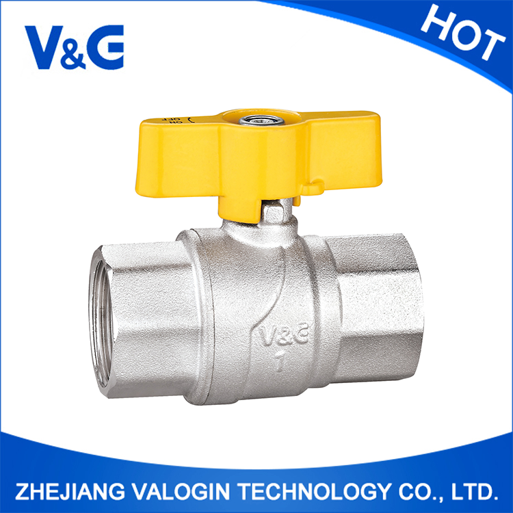 Wholesale Excellent Material Refrigerant Brass Gas Ball Valve