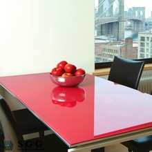 red tempered glass table tops, thickness 5mm 6mm 8mm 10mm 12mm
