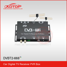 2014 new mini hd car dvb-t2 Support High speed 180km/h,Double Antenna,Full HD1080P,Remote Control
