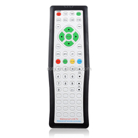 silicone button TV remote control/china manufacturer remote control