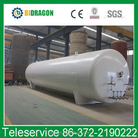 NEW 20M3 0.8Mpa Horizontal Liquid Argon Storage Tank