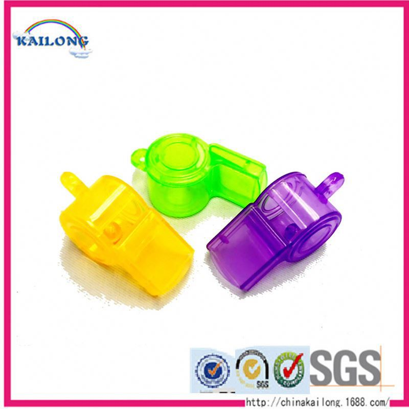 High Quality Glow In The Dark Plastic Led Whistle Toys Whistles