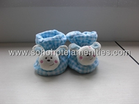 plush Kids slippers baby shoes baby boots lovely rubbit shoe