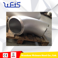 Welded 2 inch 310S Stainless Steel 90 degree 60 degree elbow pipe fitting