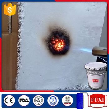 Widely Used In Fire Doors Fire Retardant Proof Coating Anti Fire Paint For Steel