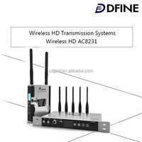 High Quality HD-PRO 1080p SDI Real Time wireless data transmitter and receiver