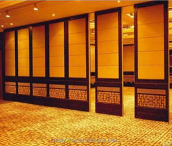 Banquet room sliding/folding soundproof doors from foshan factory