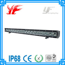 high lumen auto led light bar 5W CREE light bar one row