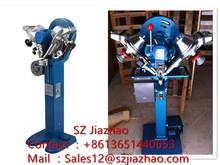 Automatic Plastic Snap Button Attaching Machine one set of male punching, one set of female punching