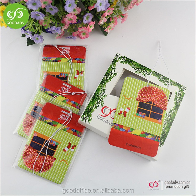 Customized Paper material new fragrant airplane car air freshener