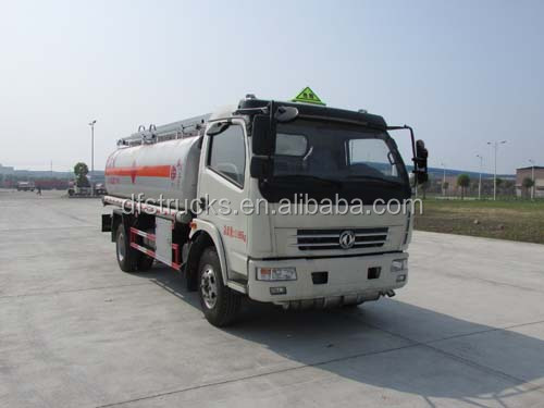 Dongfeng 4*2 9000L min oil truck tank truck hot sale cheap price