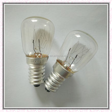 Factory price ST26 E14 Indicator light fridge lamp/oven bulb 15W/25W 110-240V
