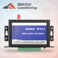 CWT5010 gsm remote control relay, with 4 digital inputs and 4 digital outputs
