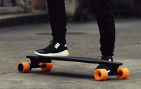 Skateboard with remote 4 wheels electric Kick scooter boosted board