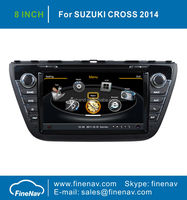 "NEW! 8"" S100 Car Radio for Suzuki cross 2014 with Gps Navi,3G,Wifi,A8 Chipset ,Bluetooth,Ipod,Free map Support DVR,DVB-T"