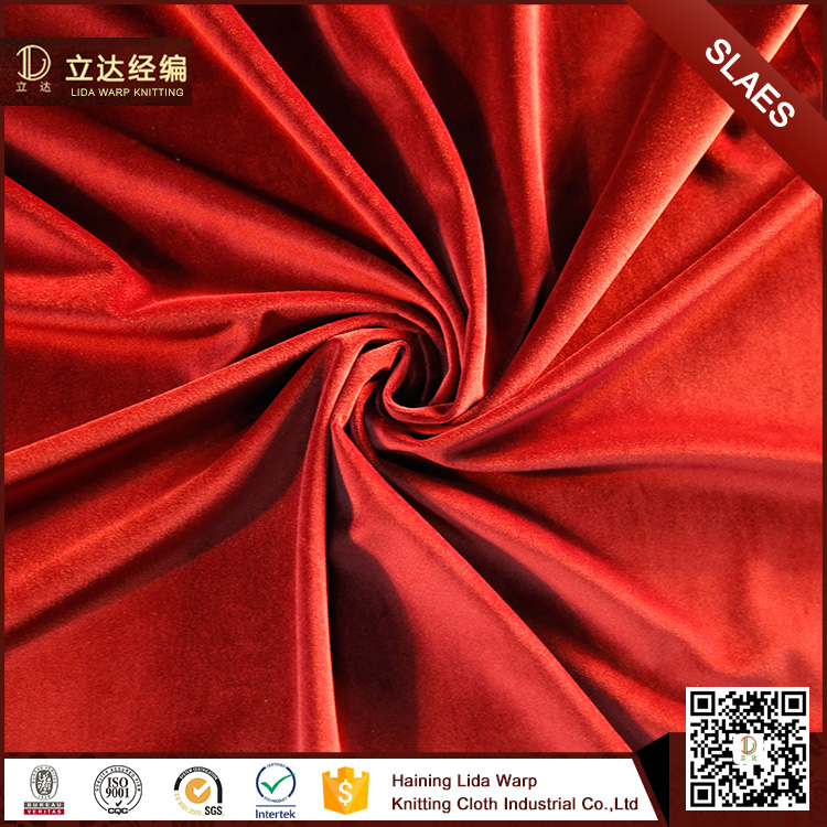 2017 Hot selling cloth material flannel garment fabric