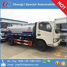New brand dfac 5m3 small water tank truck in Trinidad and Tobago