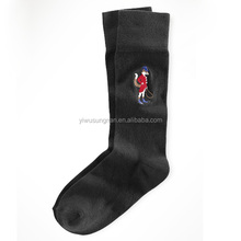 custom embroidery socks for promotion