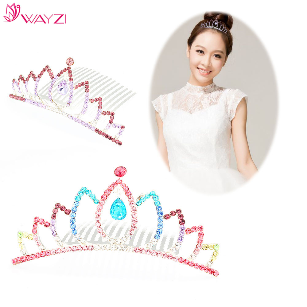 Best selling product modern hair accessories tiaras for girls