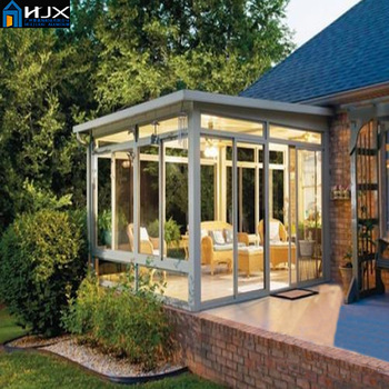 Slant Roof Sunroom Conservatory Winter Garden Sun House ...